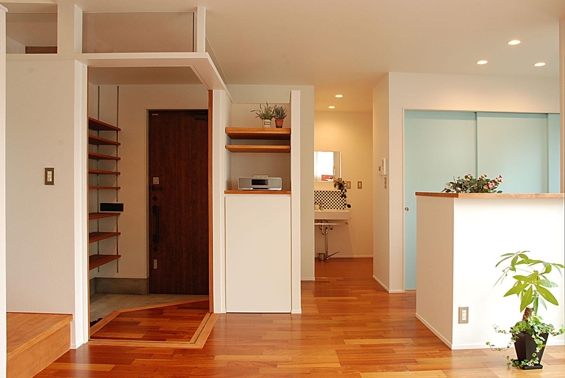 延床面積21.5坪のSmall home