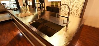 トーヨーキッチンスタイルの新製品「イノ・シュカブラ」が新潟ショールームに登場