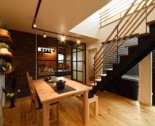 【新発田市東新町】料理好きの夫婦の暮らしをイメージしたモデルハウス